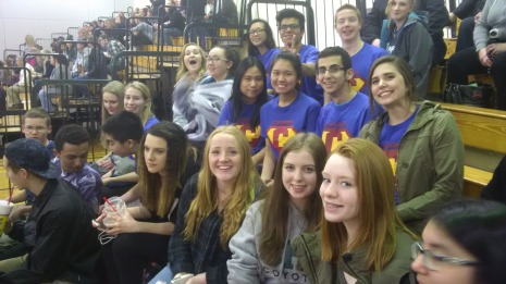 Leadership @ bball game